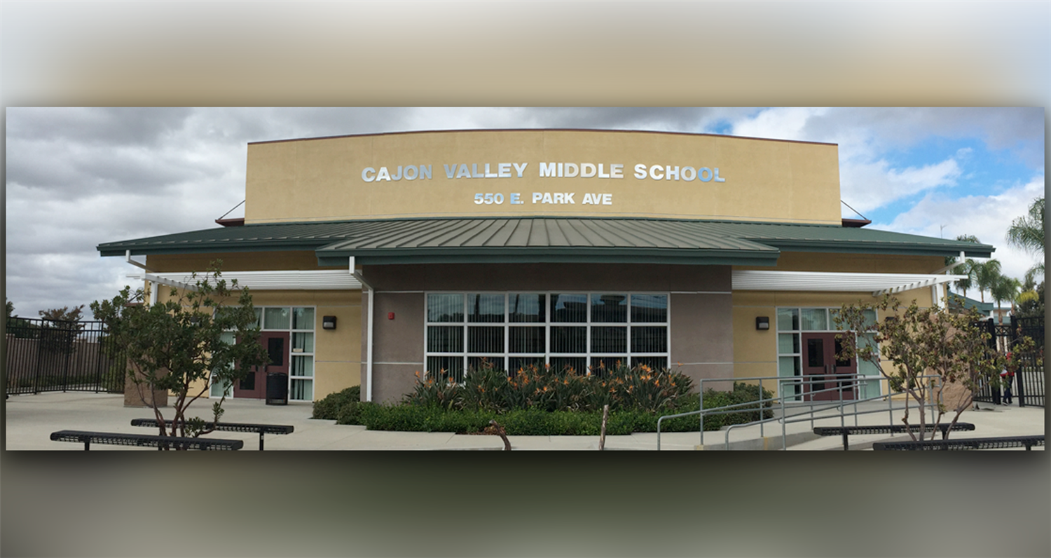 Cajon Valley Middle / Homepage