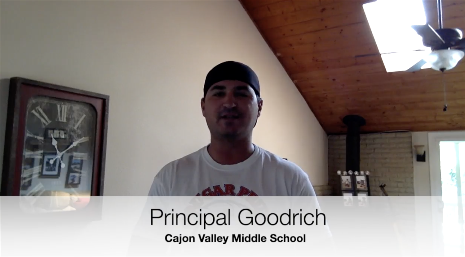 Message from Principal Goodrich - June 12, 2020