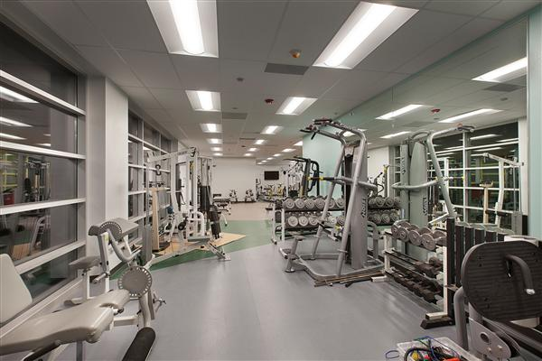 EMERALD MIDDLE SCHOOL WEIGHT ROOM