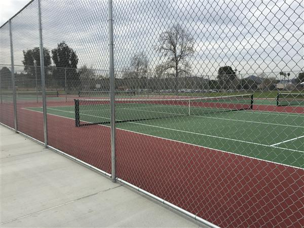 MONTGOMERY MIDDLE SCHOOL NEW TENNIS COURTS