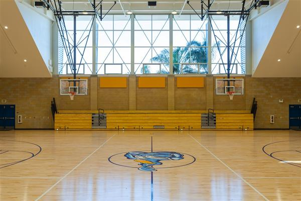 MONTGOMERY MIDDLE SCHOOL NEW GYM