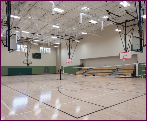 GREENFIELD MIDDLE SCHOOL NEW GYM