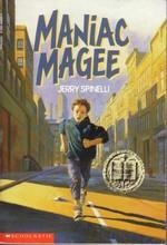 Book Cover Maniac Magee by Jerry Spinelli