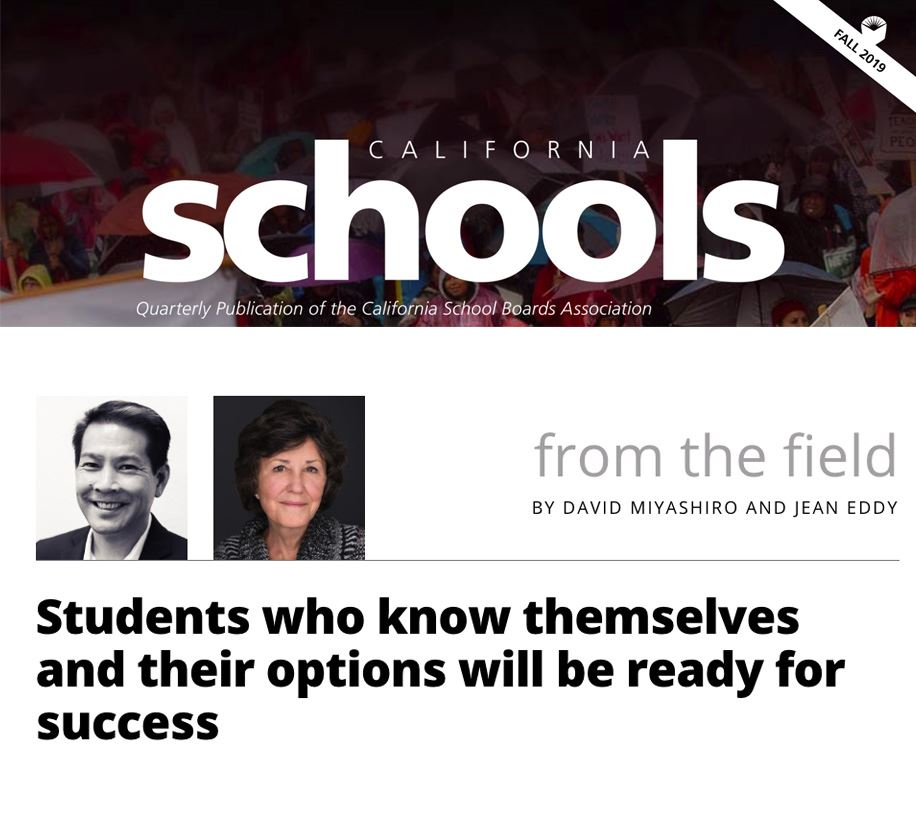 Students who know themselves and their options will be ready for success