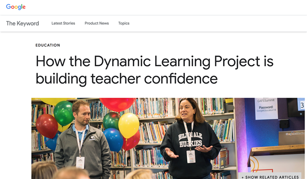 Hillsdale, Principal Launder, Ann Mason Featured on Google Blog
