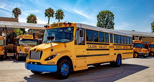 Cajon Valley Electric Bus