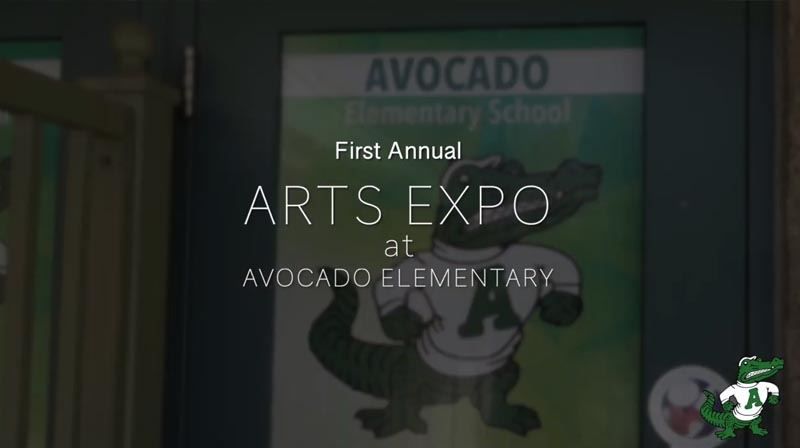 First Annual Avocado Art Expo (Click to watch video)
