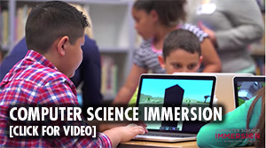 Computer Science Immersion at computer science magnet school